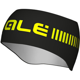Alé Cycling Strada Headband black fluo yellow